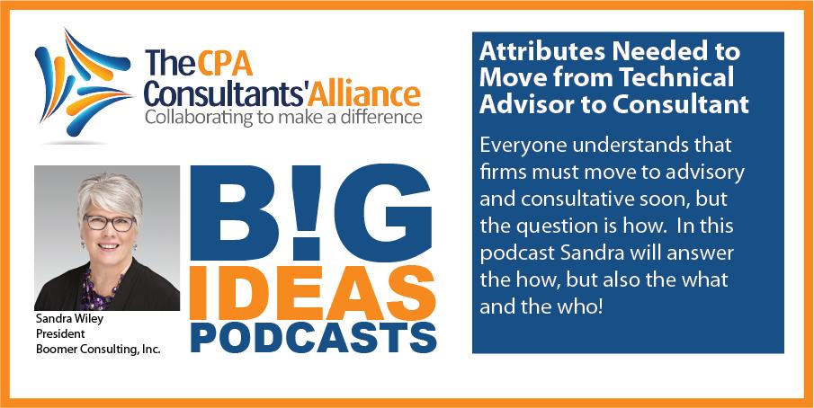 Sandra Podcast Graphic